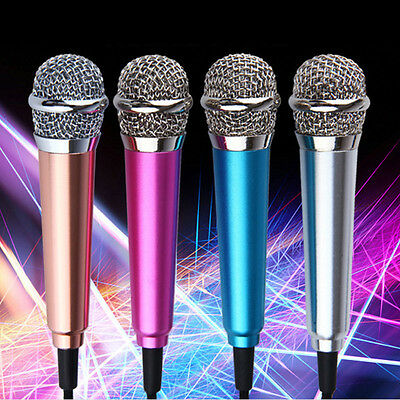 New Mini Microphone Tieline Computer Recording Equipment Small Mobile Phone Sing