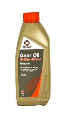 Ac Ace 1995-2000 Comma Ep85W140 1L Steering Gear Oil Transmission Lubricant