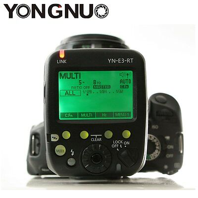 YONGNUO YN-E3-RT TTL Radio Trigger Speedlite Transmitter as ST-E3-RT For Canon