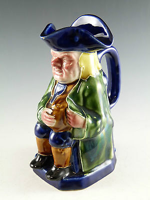 DENBY Pottery - Tube Lined Toby Jug - Early 20th century