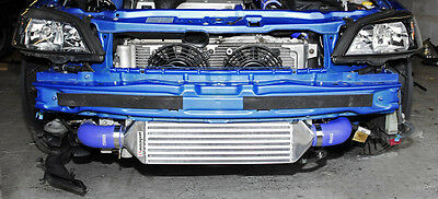 Vauxhall Zafira Astra MK4 GSI SRI Turbo Intercooler Kit + 63mm Pipework - Blue