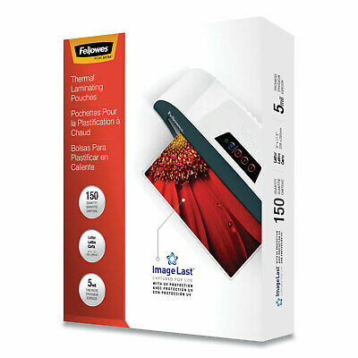 Fellowes ImageLast Letter 5mil Laminating Pouches - 150 Pack