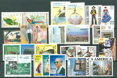Upaep - 12 Different Complete Sets Mint Nh