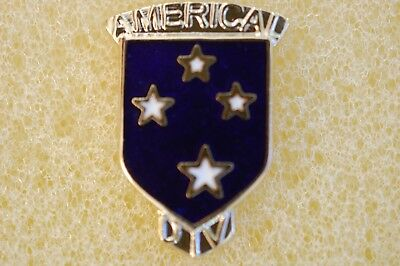 23rd  INFANTRY AMERICAL ARMY HAT PIN DIVISION