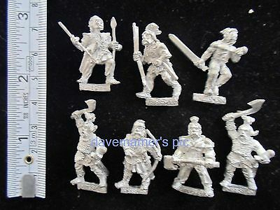 Citadel GW Warhammer F Fighters 1985 Metal F6 BARBARIAN RAIDERS Lot Collection 7