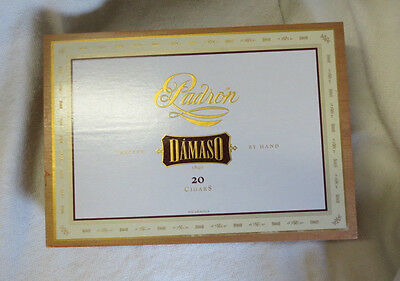 Padron Damaso No.12 Wood Cigar Box -  Nice - Beautiful!