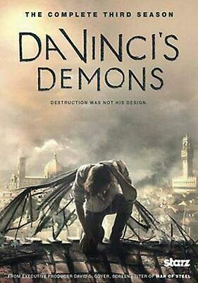 Da Vinci's Demons: the Complete Third Season - DVD-STANDARD Region 1 Free Shippi