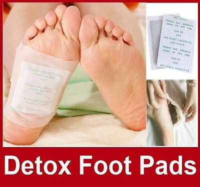 Kinoki Gold Herbal Detox Foot Pads Detoxification Cleansing Patches 14
