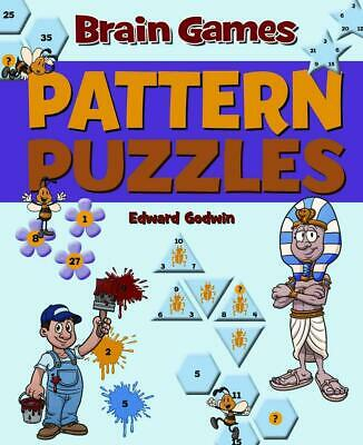 Pattern Puzzles by Edward Godwin (English) Hardcover Book Free Shipping!