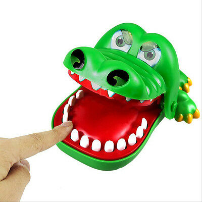 Lovely Cute Mouth Crocodile Dentist Bite Finger Game Funny Toy Kids Biting Hand