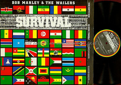 Lp- Bob Marley & The Wailers Survival // Ois