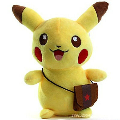 Pikachu Figures Soft Stuffed Plush Doll Kids Toy Ideal Gift Adorable Crazy Cute