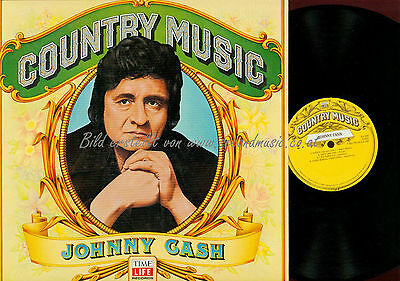Lp--Johnny Cash Country Music Time Life