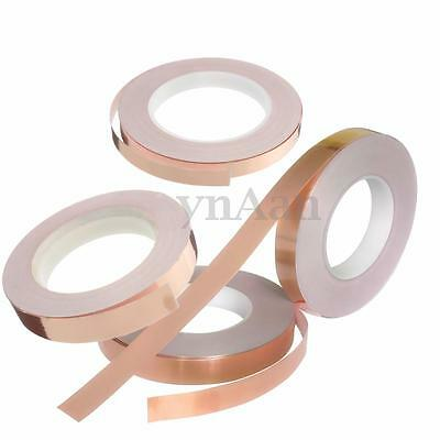 30M Adhesive Conductive Copper Foil Slug Tape Repellent Guitar Pickup EMI Shield