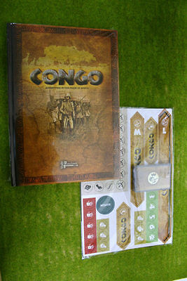 CONGO! Book and Card set Wargame rules for Adventures in the Heart of Africa