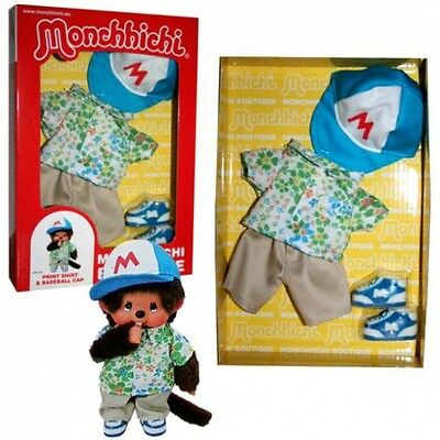 Monchhichi - Set Puppenkleidung Mode Kleidung Sommer Junge