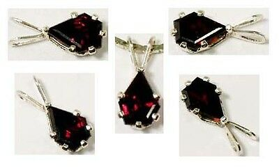 Antique 19thC Handcut 1 1/3ct Garnet Gem of Korans Fourth Heaven Persian Royalty