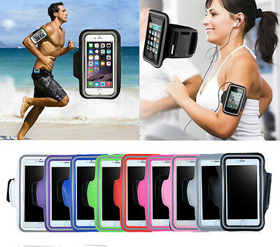 iPhone 7/6s 6 Plus Sports Running Jogging Gym Armband Arm Band Case Cover Holder