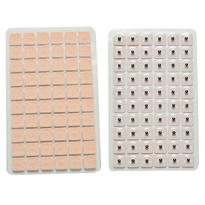 600Pcs Acupuncture Needle Ear Press Seeds Vaccaria Massage Stickers Acupuncture