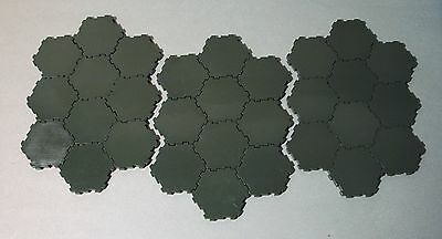 Lot of 30 Green Swamp Water 1-Hex Tiles HEROSCAPE Terrain