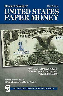 Standard Catalog of United States Paper Money by Maggie Judkins (English) Paperb
