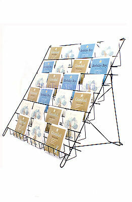 Large Collapsible Greeting Card Display in Black for Shops & Stalls (E6B)