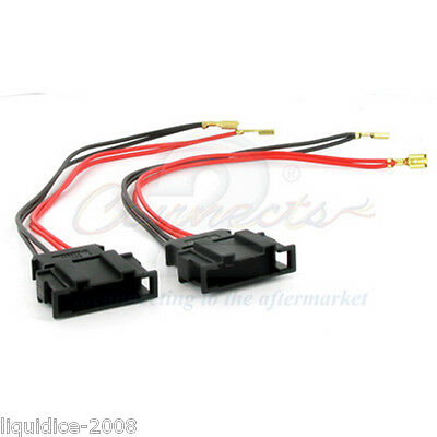 Ct55-Vw02 Volkswagen Polo All Years Speaker Harness Adapter Connectors Car