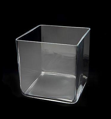 Aquael Decoris Glasbecken Deco Glas Behälter Vase Aquarium Cube 6,5L 20cm