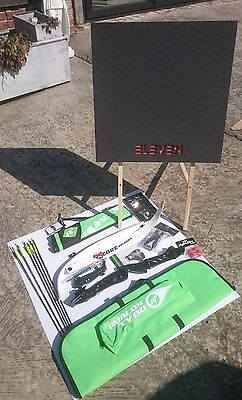 Aim Archery Youth Core + Target Package Recurve Bow Set Bowset