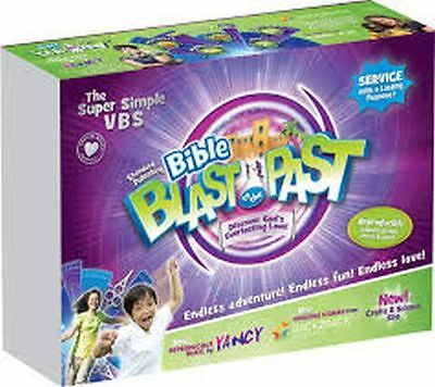 Bible Blast To The Past Standard Vbs Starter Kit. New! Save 25%.
