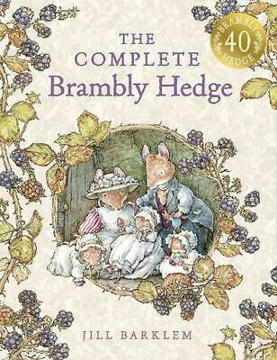 The Complete Brambly Hedge by Jill Barklem Hardcover Book (English)