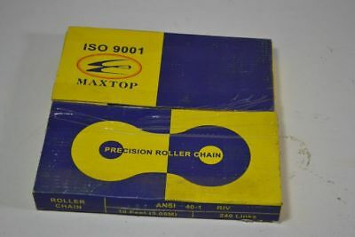 Maxtop 40-1 Roller Chain 10ft 240-Link ! NEW !