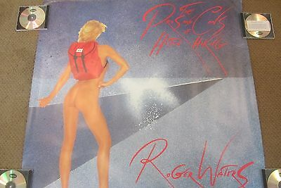 1984 ROGER WATERS PROS and CONS of HITCH HIKING LARGE PROMO POSTER PINK FLOYD