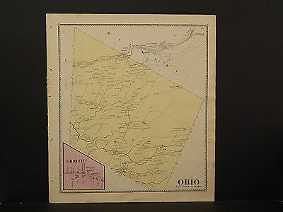 New York, Herkimer County Map, 1868 Town of Ohio P3#10