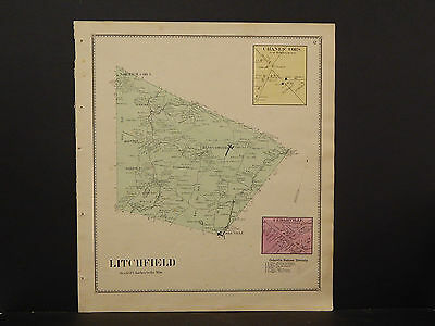 New York, Herkimer County Map, 1868 Town of Litchfield P3#16