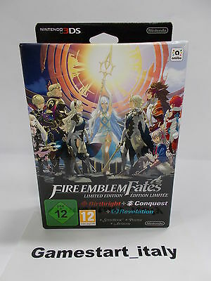 Fire Emblem Fates Special Limited Edition - Nintendo 3Ds - New Pal Version