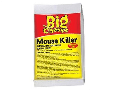 THE BIG CHEESE Mouse Killer Cut Wheat Bait Rodenticide Sachet 50g