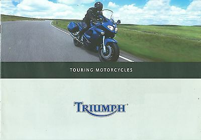 Triumph Touring Motorcycles Brochure