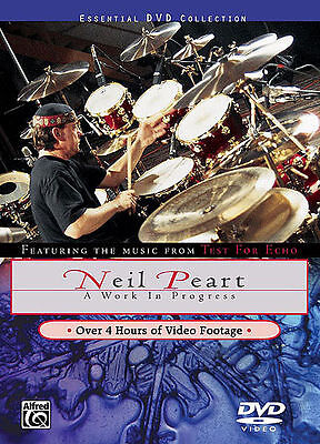 Neil Peart- Rush- Work In Progress *new* Drum Dvd Drums