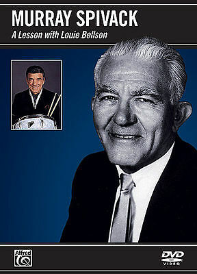 Murray Spivack A Lesson With Louie Bellson Drum Dvd