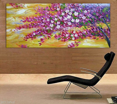 Huge Modern Abstract hand-painted Art Oil Painting Wall Decor canvas