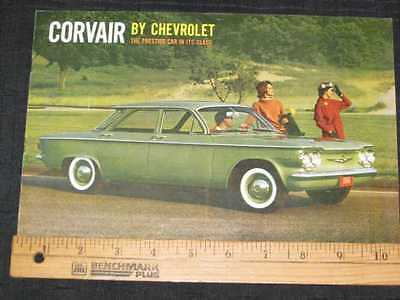 1960 Chevrolet Corvair Catalog Sales Brochure CDN