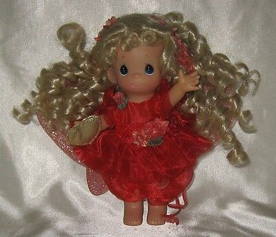 2003 Precious Moments Red Fairy of Charms Doll