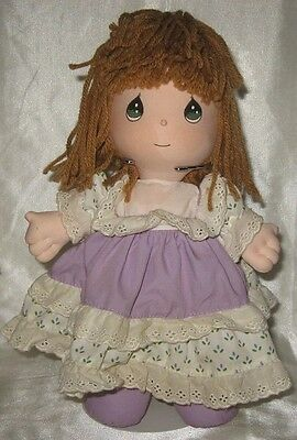 Precious Moments April Cloth Doll 10.5""