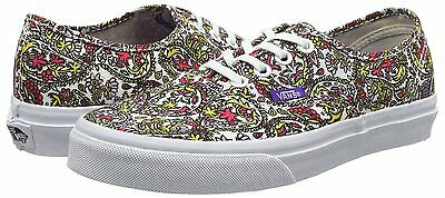 26281bd73e New Vans Authentic Shoes Liberty Paisley Multi True White Womens Size 9.5  Mens 8