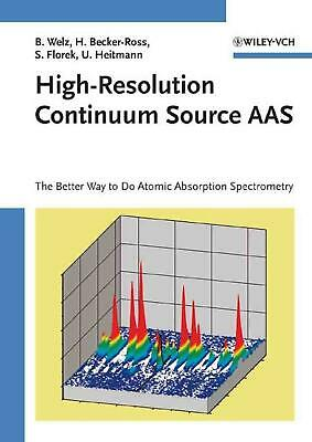 High-Resolution Continuum Source AAS: The Better Way to Do Atomic Absorption Spe