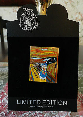 Disney Masterpiece DONALD DUCK THE SCREAM Chip an' Dale LE 250 PIN New On Card