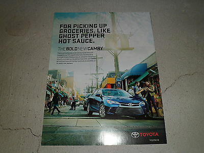 2015 TOYOTA CAMRY XLE article / ad