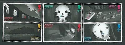 Great Britain 2016 Agatha Christie Set Of 6 Unmounted Mint, Mnh
