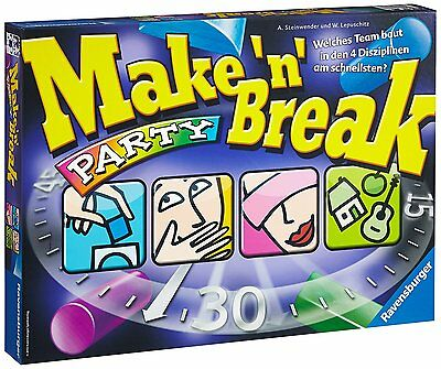 LOT 38810 | Ravensburger 26575  Make'n Break Party Gesellschaftsspiel NEU in OVP